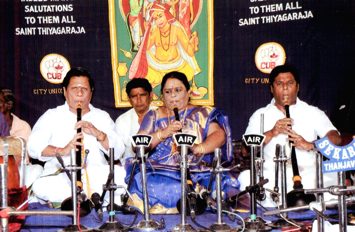 Nadhaswaram Family.