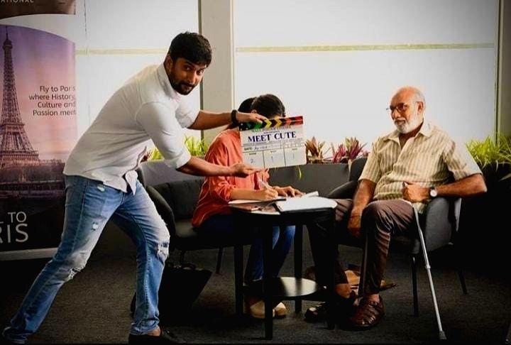 Nani kickstarts shoot of upcoming production Meet Cute