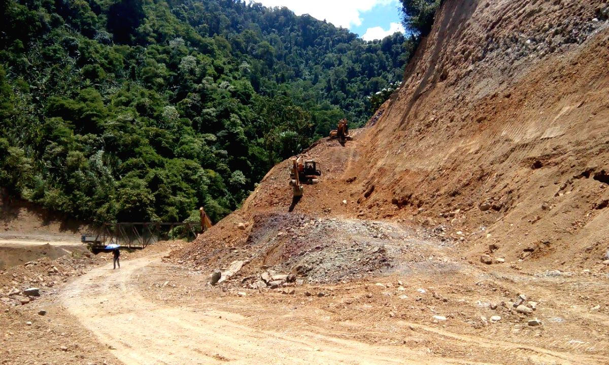 National Highway Infrastructure Development Corporation Limited constructing roads which were earlier with the Border Roads Organisation in Arunachal Pradesh.