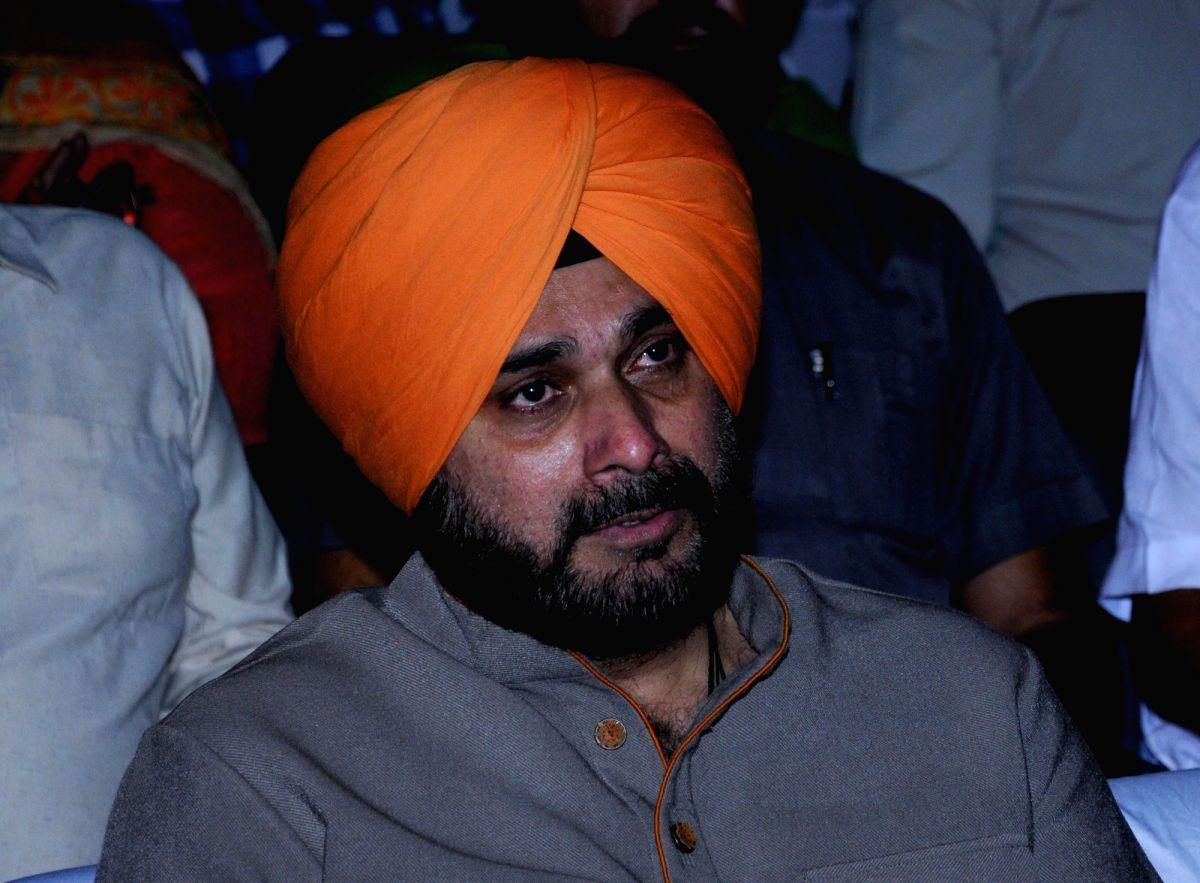 Navjot Singh Sidhu.