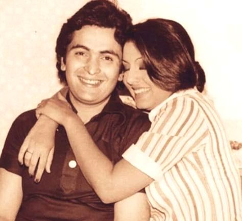Neetu Kapoor shares her 'lifelong friendship' with Rishi Kapoor in new picture.