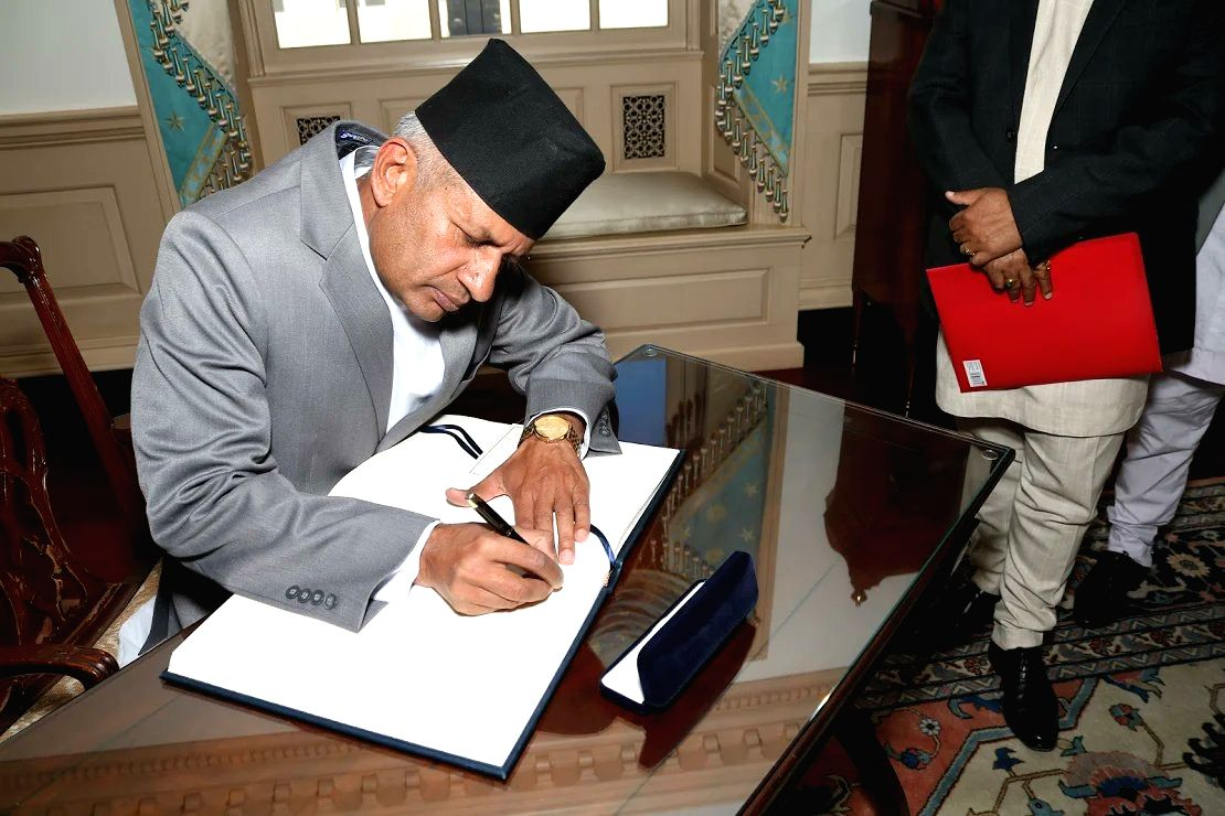 Nepal's foreign minister Pradeep Gyawali to visit India for bilateral talks.