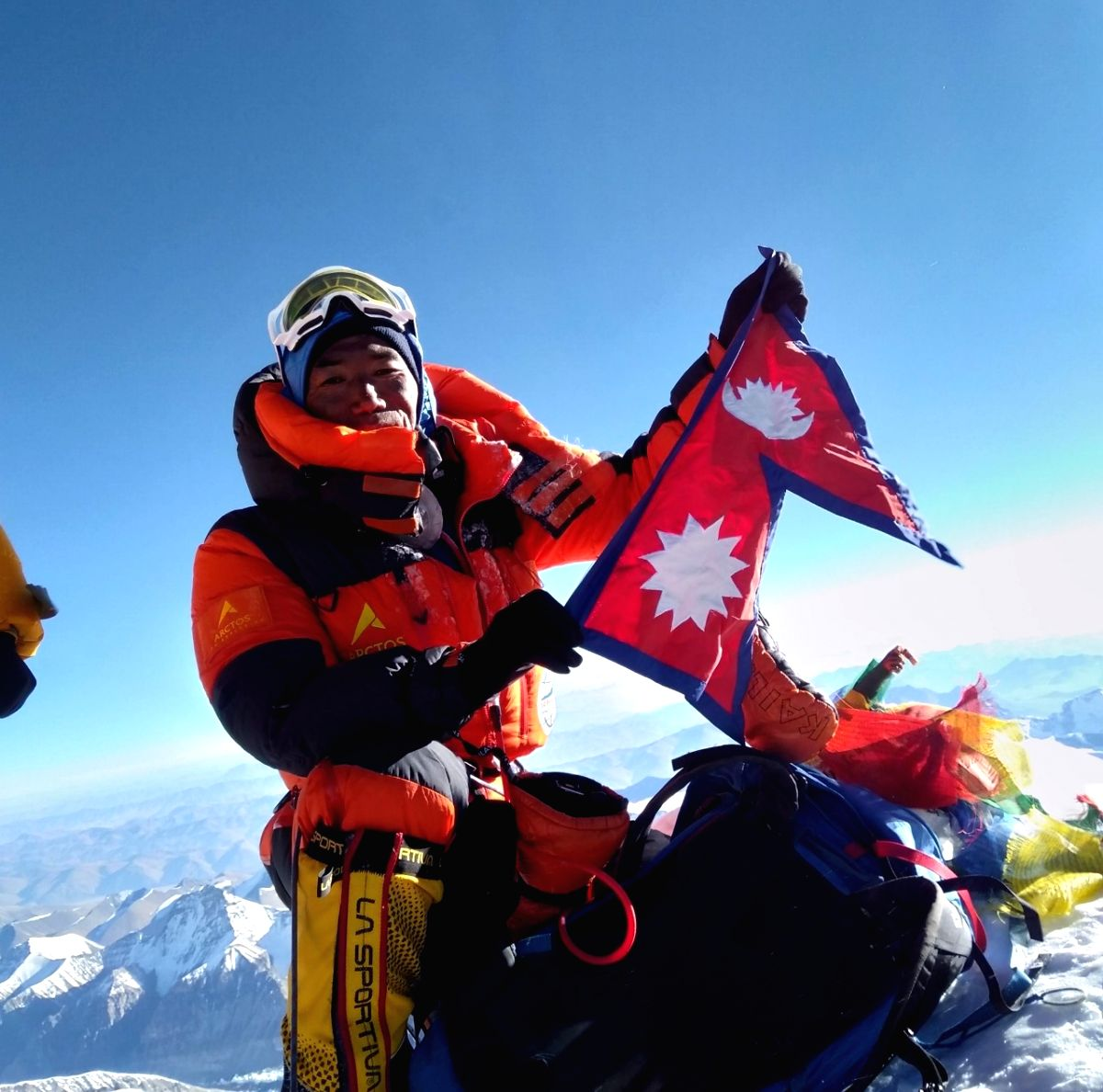 Nepal's Kami Rita Sherpa ascents Mt Everest for record 25th time.