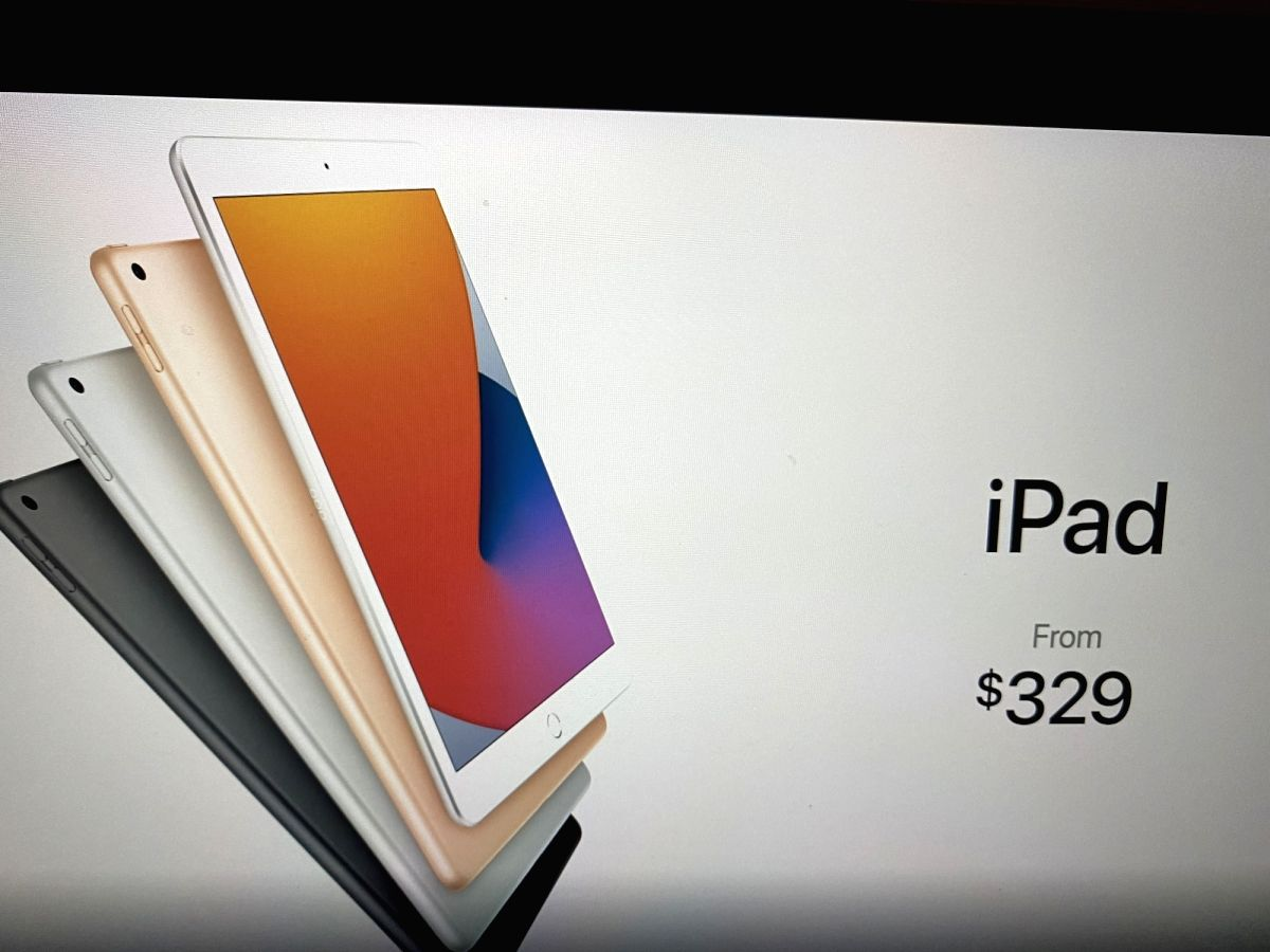 New Apple iPad 8: Another affordable yet powerful device.