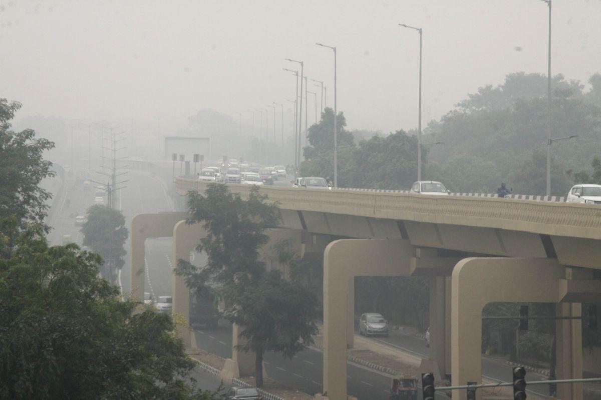 New Delhi: A blanket of smog engulfs New Delhi on Nov 2, 2019.