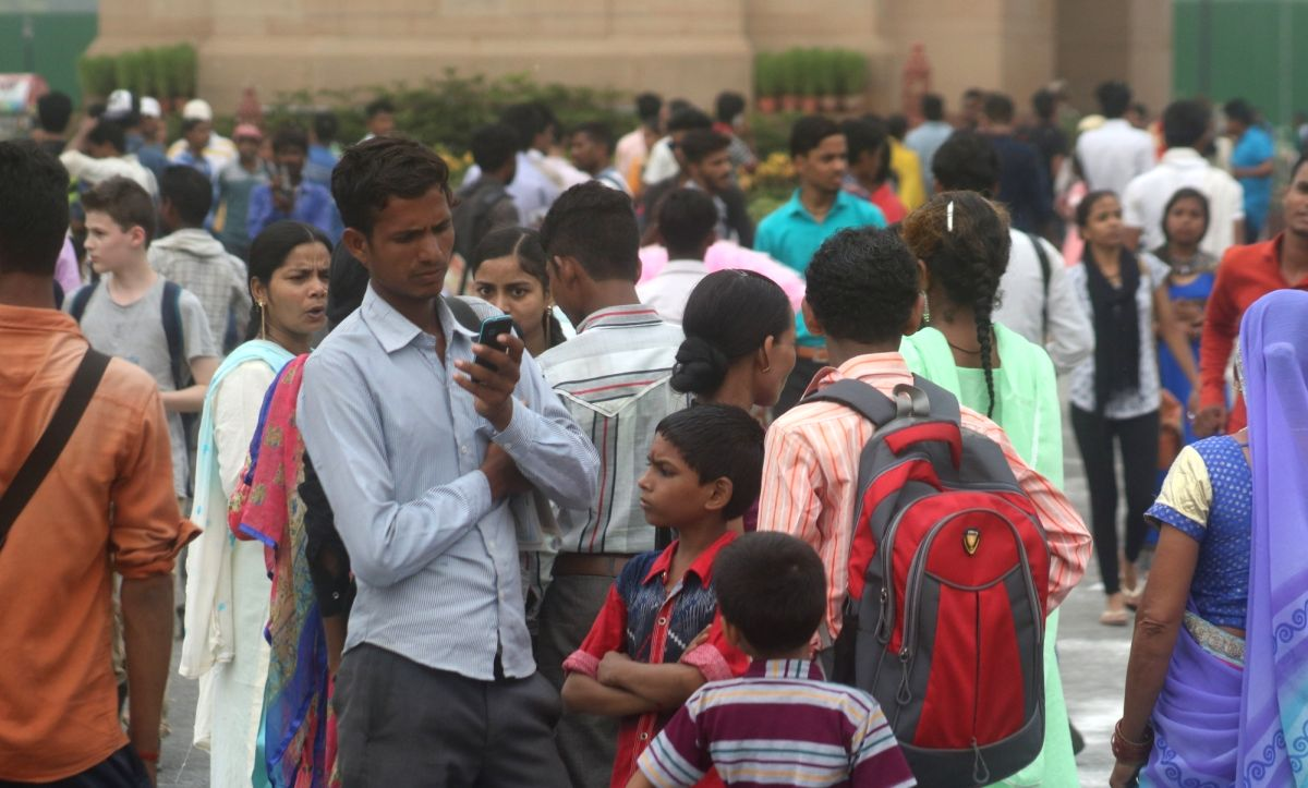 New Delhi: A crowd of visitors at the India Gate, in New Delhi on July 11, 2018. World Population day which seeks to raise awareness about issues related to population, is globally observed on July 11 every year. (Photo: Bidesh Manna/IANS)