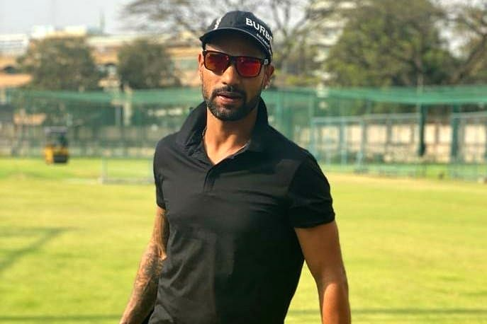 New Delhi, April 27 (IANS) India opener Shikhar Dhawan and wife Ayesha on Monday put out a video on social media to send an important message regarding domestic violence.