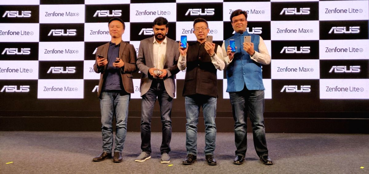 :New Delhi: ASUS India Regional Head (South Asia) and Country Manager Peter Chang, ASUS Regional Head (India and South Asia) Leon Yu and Asus India Director (Mobile Product) Dinesh Sharma at the ...