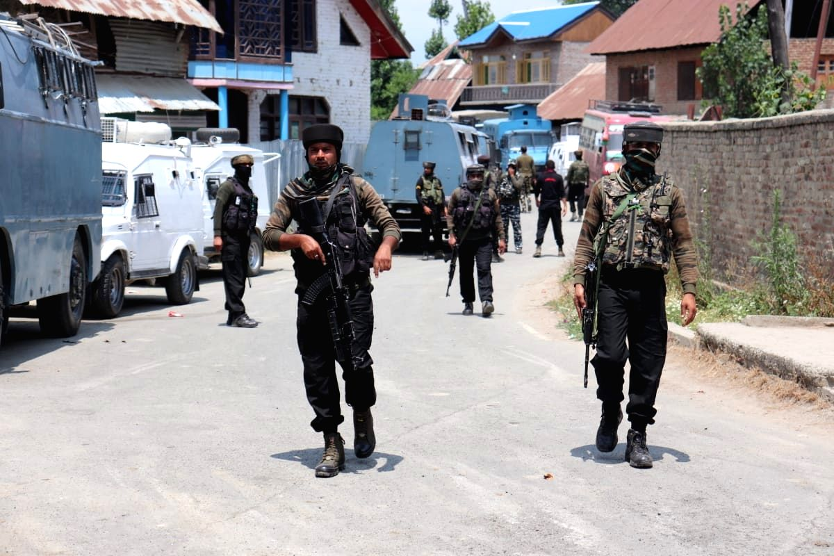 New Delhi, Aug 5 (IANS) The terrorists strength in Jammu and Kashmir is now below 200, the security forces said on the first anniversary of abrogation of Articles 370 on Wednesday.