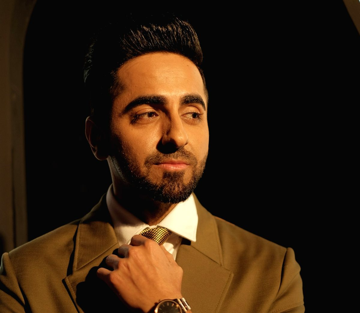 New Delhi: Ayushmann Khurrana at the Daniel Wellington DWali Party in New Delhi on Oct 11, 2019.