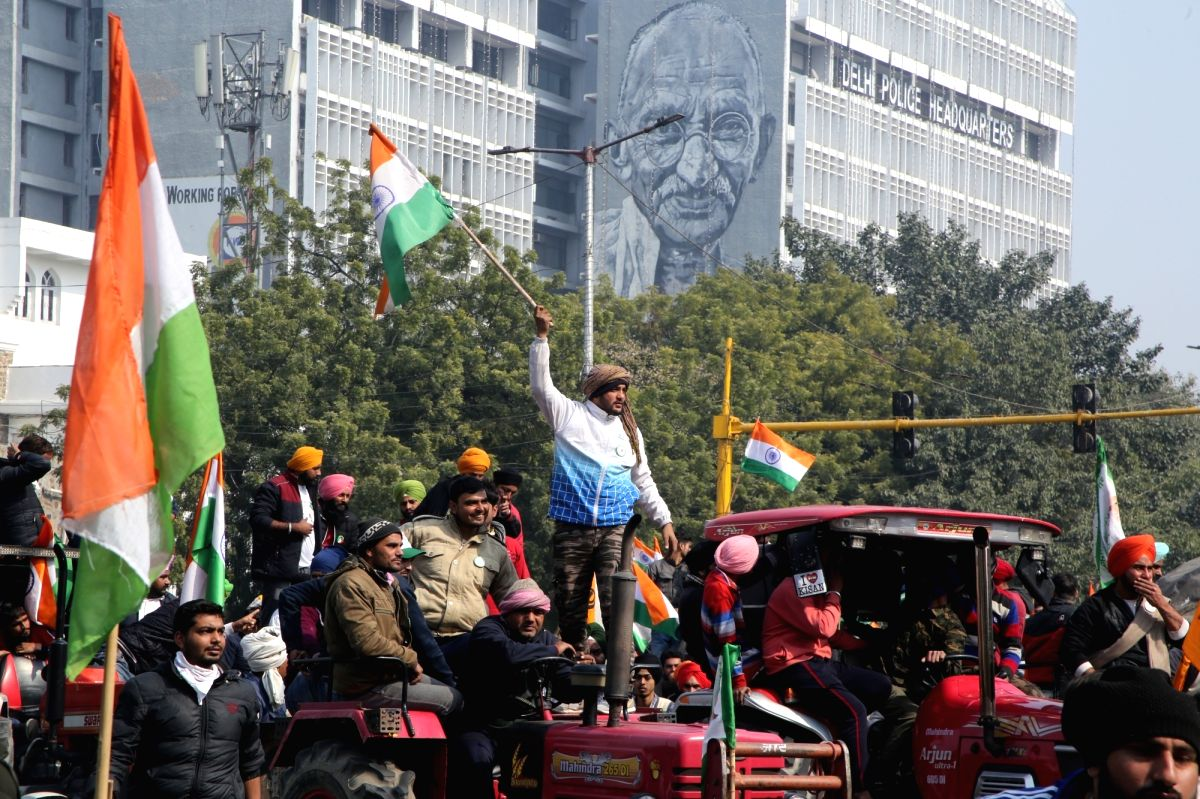 22 FIRs filed in Delhi tractor rally violence; 86 cops injured