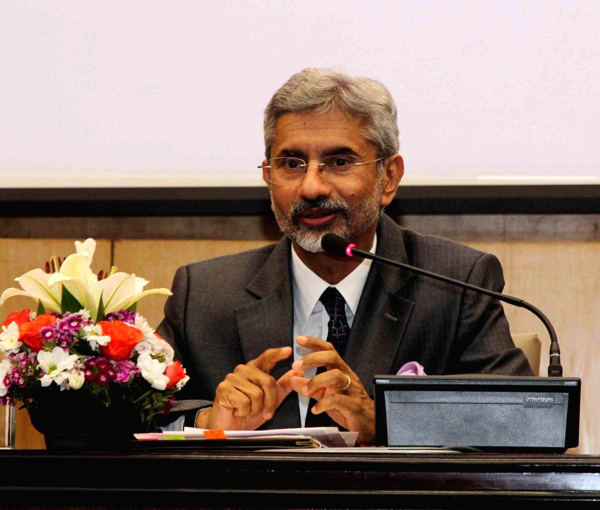 External Affair's Minister S Jaishankar