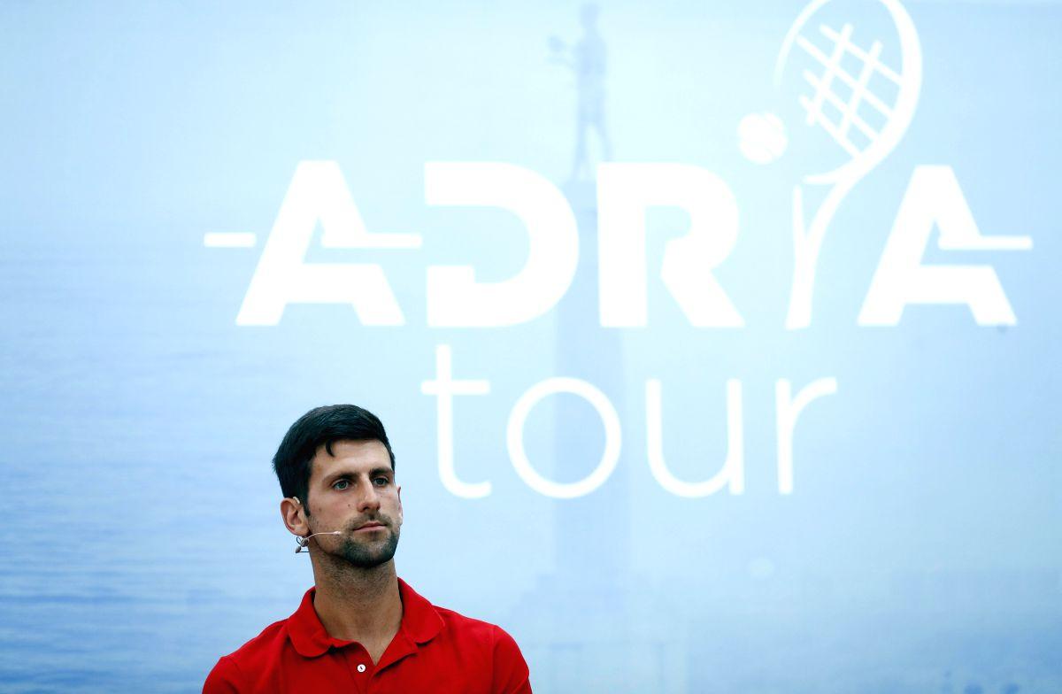 New Delhi, June 11 (IANS) World No.1 Novak Djokovic will headline the Adria Tour which will mark the return of men's tennis in the wake of coronavirus pandemic.