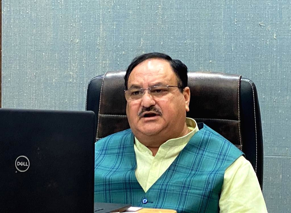 """New Delhi, June 16 (IANS) Amid the Congress's criticism of the government after news emerged that three Indian soldiers were killed during a violent India-China face-off at Ladakh, BJP President J.P. Nadda branded the Congress as an """"irresponsible"""" o"""