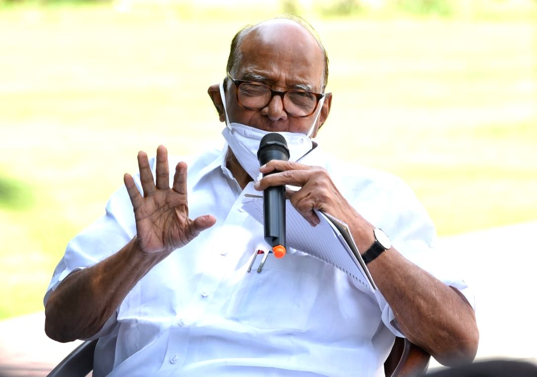 New Delhi: Letter Bomb: Pawar says matter serious, CM can take action.