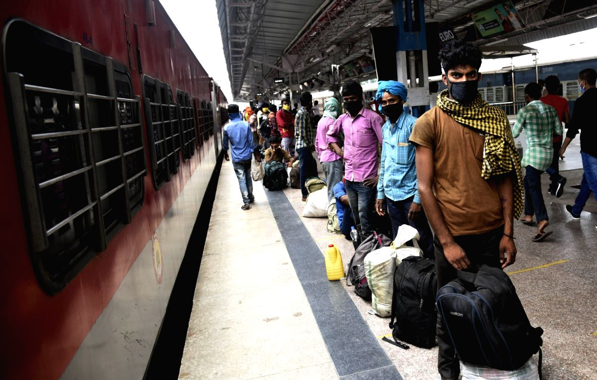 New Delhi, May 23 (IANS) The Indian Railways was left red faced on Saturday after a Shramik Special train which started its journey from Mumbai for Gorakhpur on May 21 reached Odisha's Rourkela without intimating the passengers about the change in th