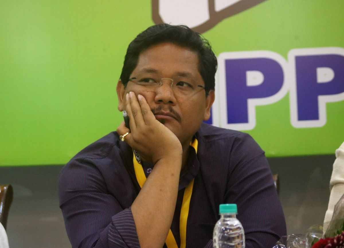 New Delhi: Meghalaya Chief Minister and National People's Party (NPP) president Conrad K. Sangma during the party's National Executive Committee Meeting, in New Delhi on July 21, 2018.