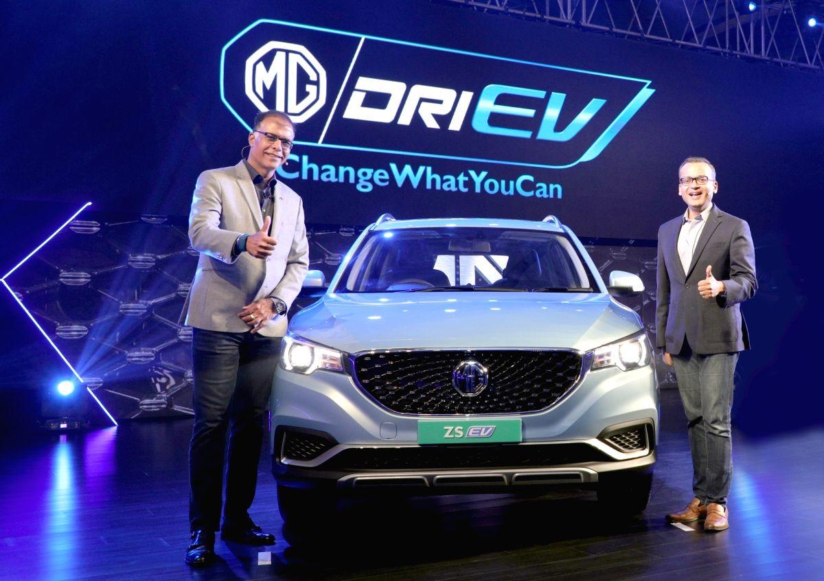 MG Motor India President and Managing Director Rajeev Chaba