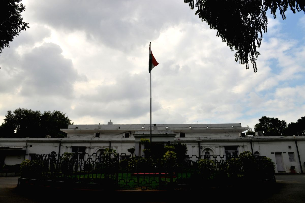 """New Delhi, Oct 7 (IANS) Congress workers staged protests outside AICC headquarters here on Wednesday, alleging bias in ticket distribution and """"selling"""" of tickets ahead of the Bihar Assembly election."""