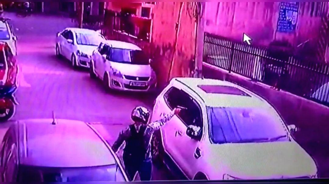 New Delhi: Property dealer shot at in Delhi's Kakrola on Sep 24, 2019.