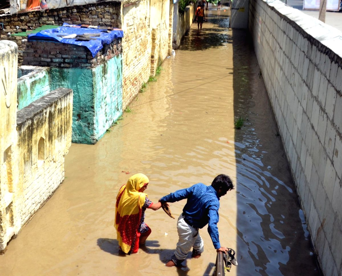 Extreme weather events in India bear climate change footprint