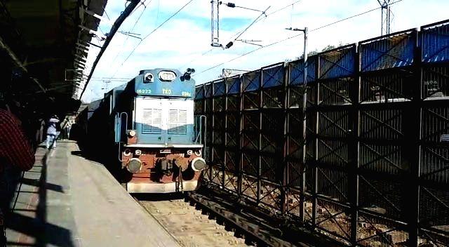 New Delhi: Samjhauta Express arrives in Delhi after Pakistan announced permanent suspension of the cross-border train service, on Aug 9, 2019.