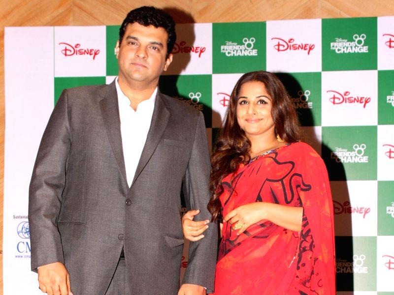 Siddharth Roy Kapur with actress and his wife Vidya Balan