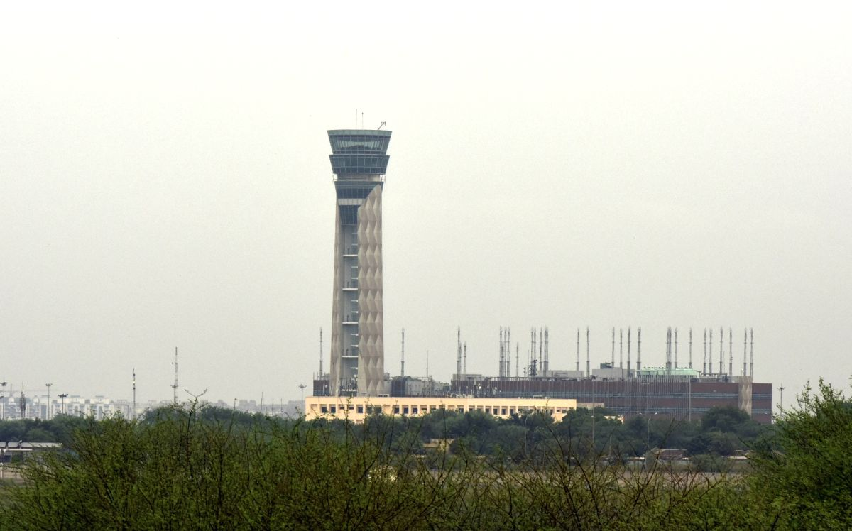 New Delhi:  The new Air Traffic Control tower that is being constructed at the Indira Gandhi International (IGI) Airport in New Delhi.