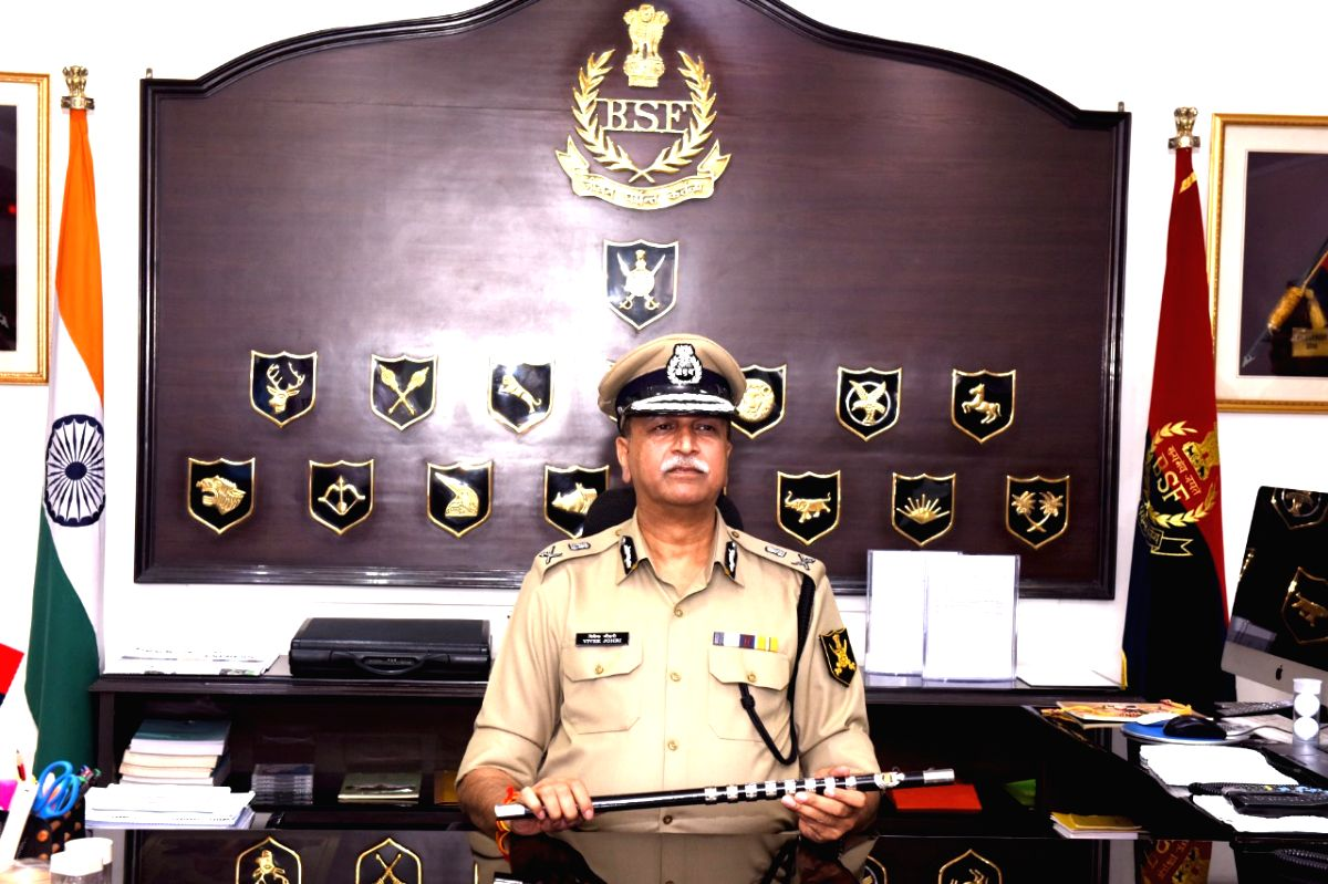 New Delhi: Vivek Kumar Johri takes charge as the new Director General of the Border Security Force in New Delhi on Aug 31, 2019. (Photo: IANS/DPRO)