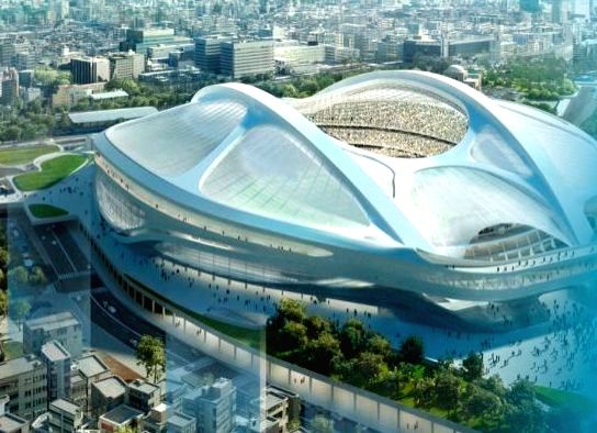 New National stadium.