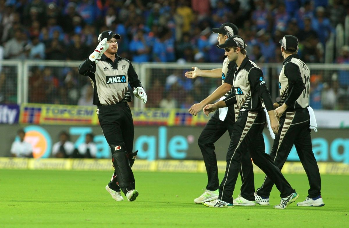 New Zealand players back from IPL have first practice session