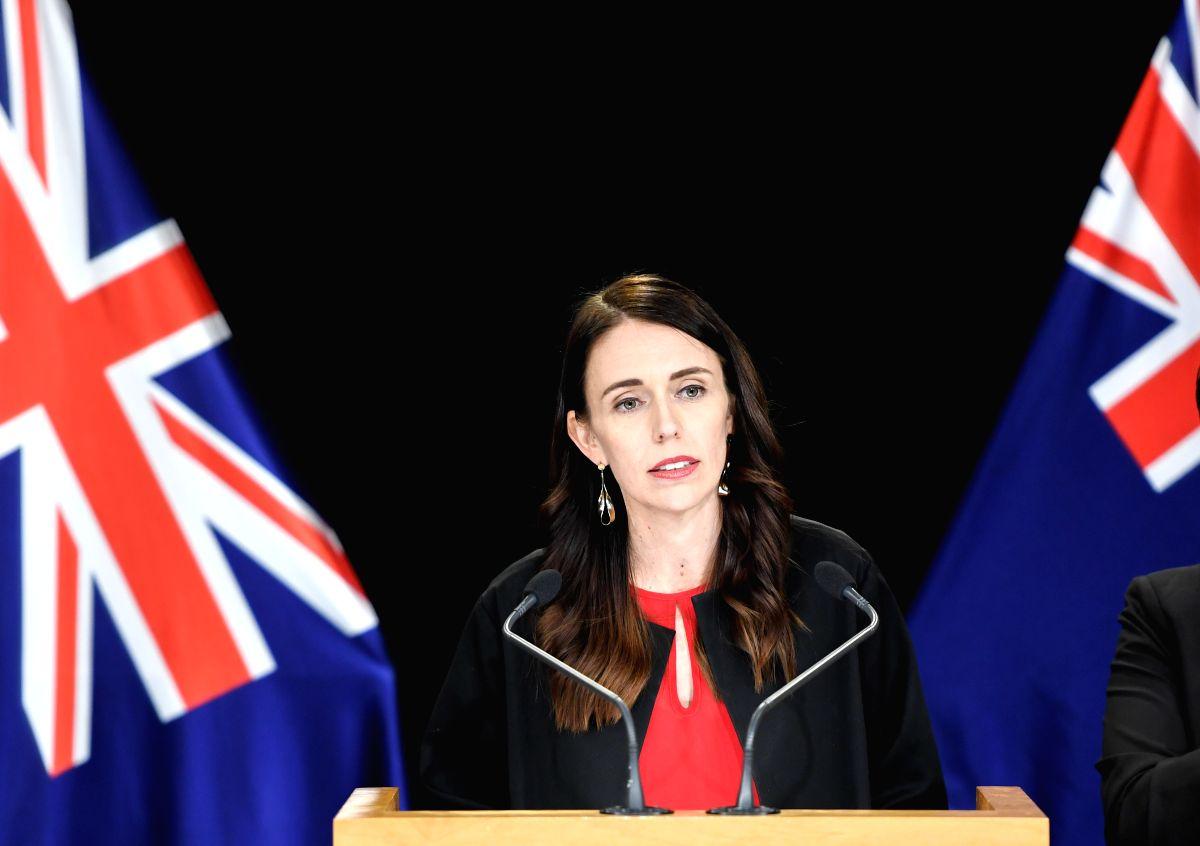 New Zealand Prime Minister Jacinda Ardern. (Xinhua/Guo Lei/IANS)