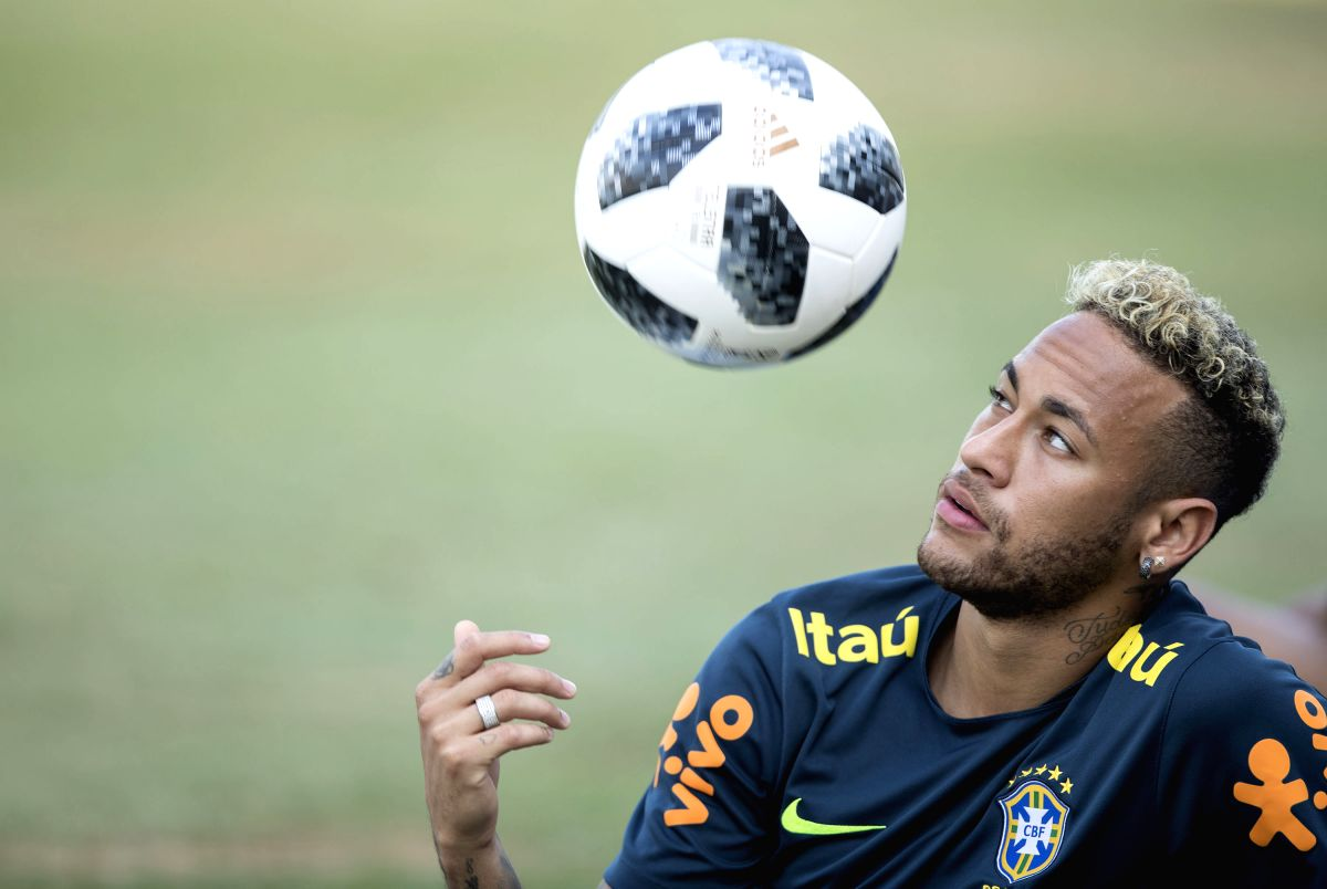 Neymar. (Xinhua/Fei Maohua)