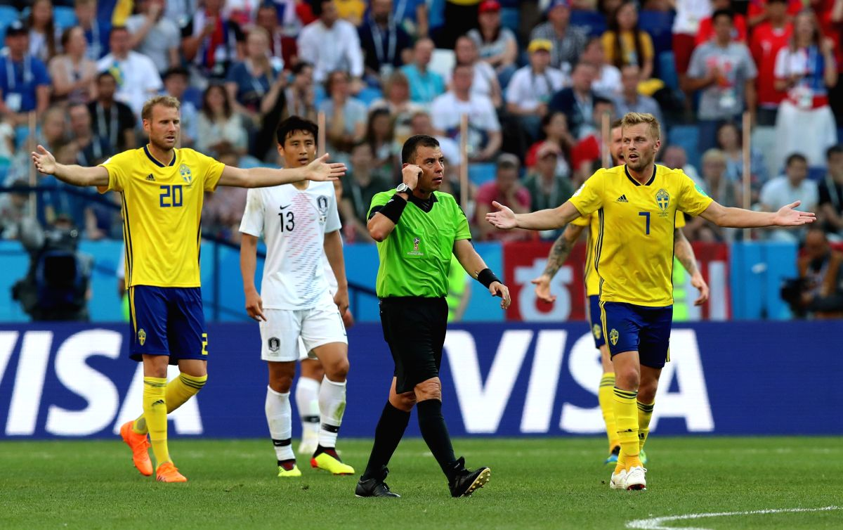 2018 World Cup is where Sweden won their first ever opening match since 1958! Good job!