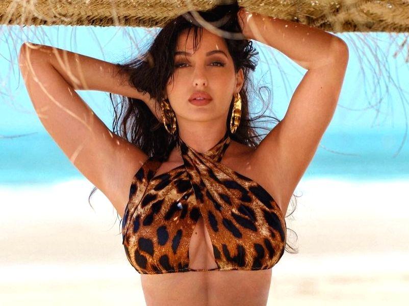 Nora Fatehi channels her inner tigress.