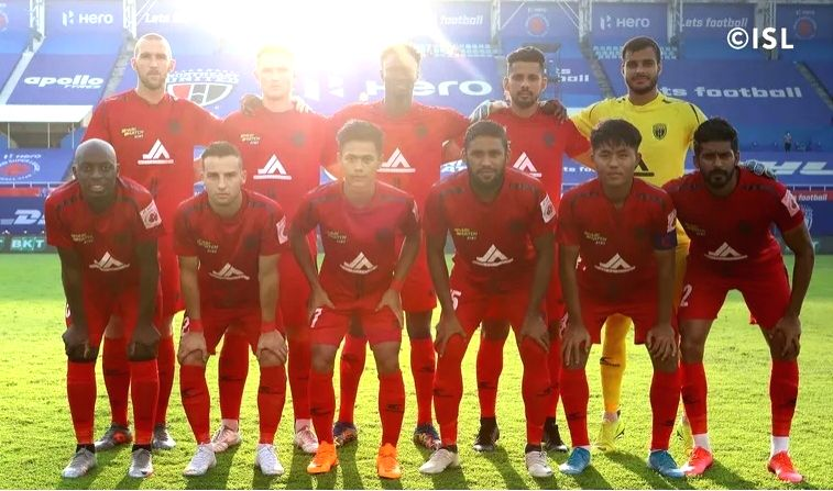 NorthEast United FC (Photo - www.indiansuperleague.com).