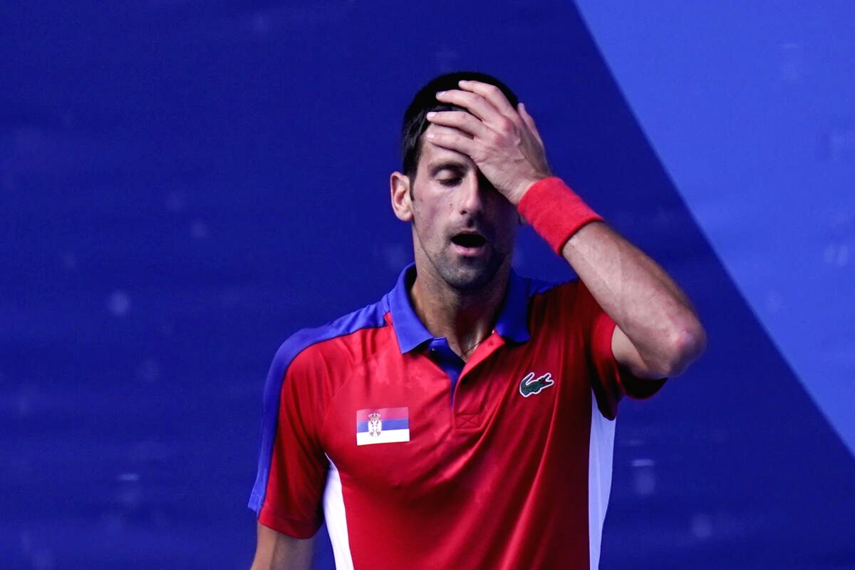 Novak Djokovic loses bronze medal match in men's singles