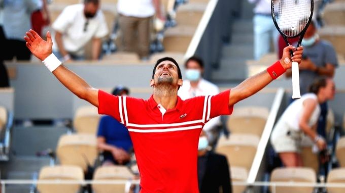 Novak Djokovic wins french open on Sunday