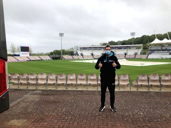 NZ cricketers reach London for WTC final vs India, Tests vs Eng.(Credit: @Blackcaps)