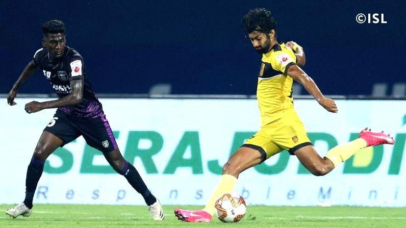 Odisha FC vs Hyderabad FC, GMC Stadium. (source : ISL)