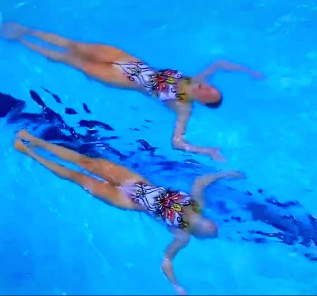 Olympics: Israeli swimmers perform on 'Aaja Nachle', impress Indians