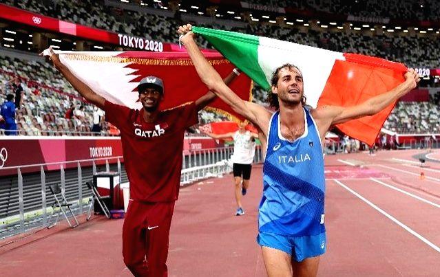 Olympics: Italian and Qatari say no to jump-off, share high jump gold