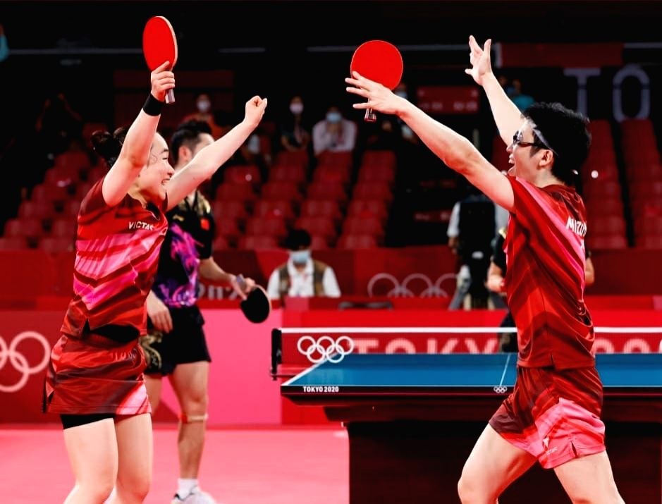 Olympics: Japan stun China to take mixed doubles gold in TT.