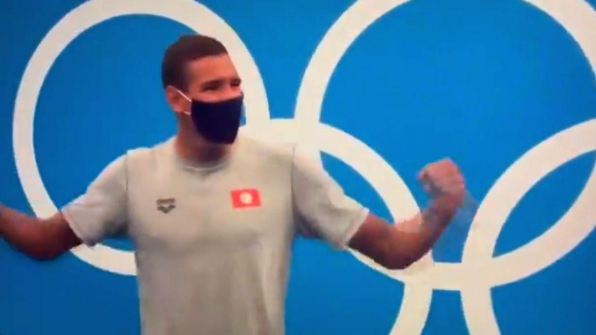 Olympics swimming: Tunisian Hafnaoui creates history; Australia sets world record