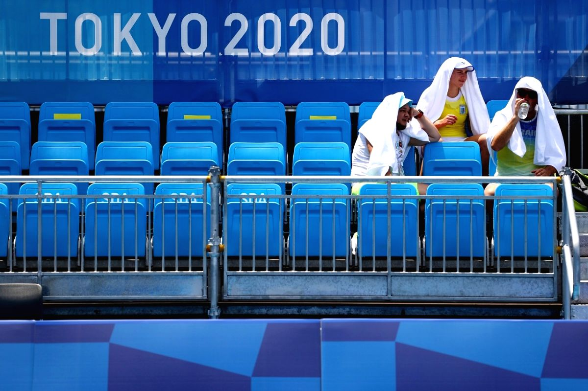 Olympics: The unbearable heat is on in Tokyo