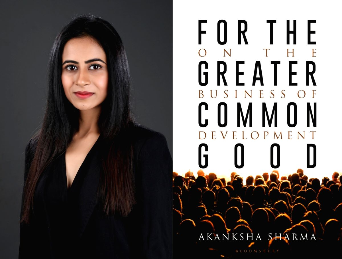One evolves with every written and unwritten sentence, says author Akanksha Sharma.
