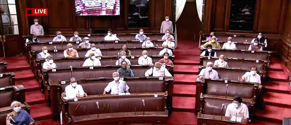 Oppn to move privilege motion against Minister in RS. (Credit : Twitter)