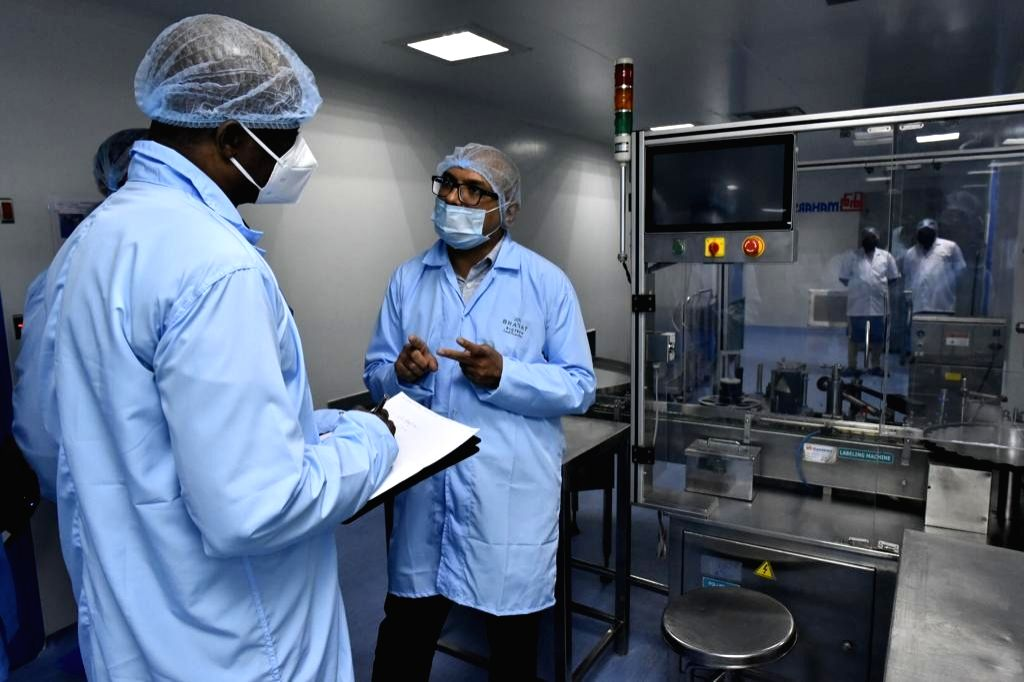Over 60 envoys visit Bharat Biotech facility in Hyderabad.