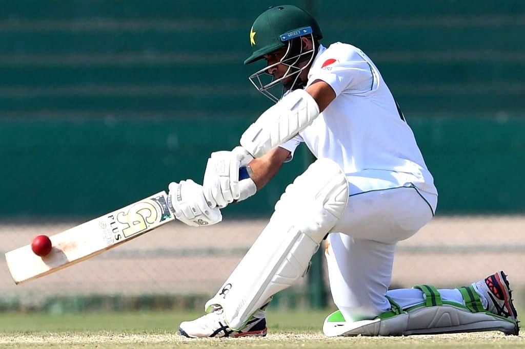 Pakistan opener Abid Ali.