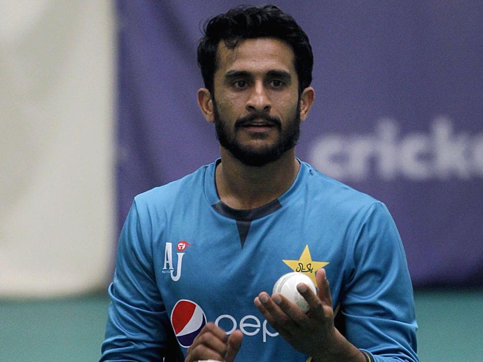 Pakistan's Hasan Ali